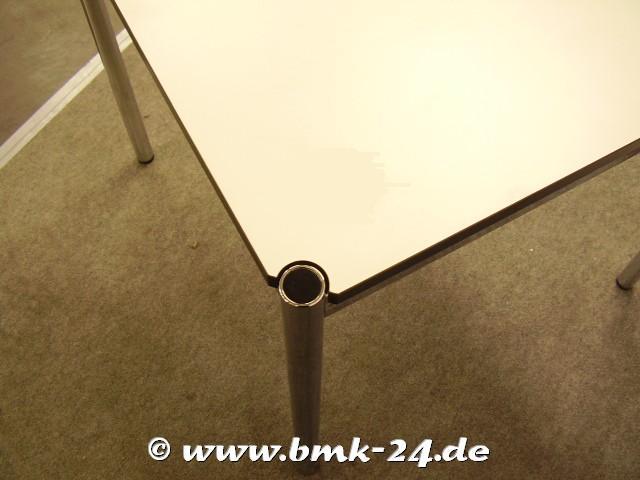 Usm haller tisch in perlgrau 75 x 75 - Usm gebrauchtmobel ...