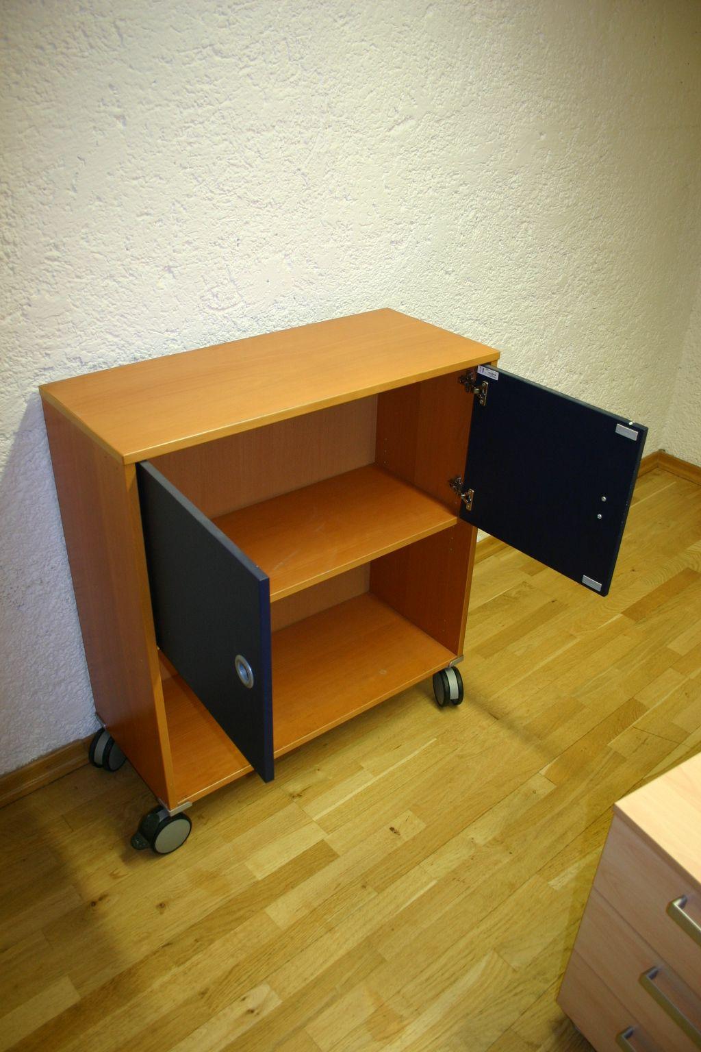 rollcontainer in buche von ikea modell effektiv. Black Bedroom Furniture Sets. Home Design Ideas