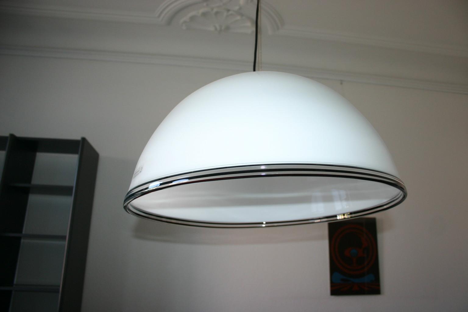deckenlampe aus murano glas von effetre deckenlampen. Black Bedroom Furniture Sets. Home Design Ideas