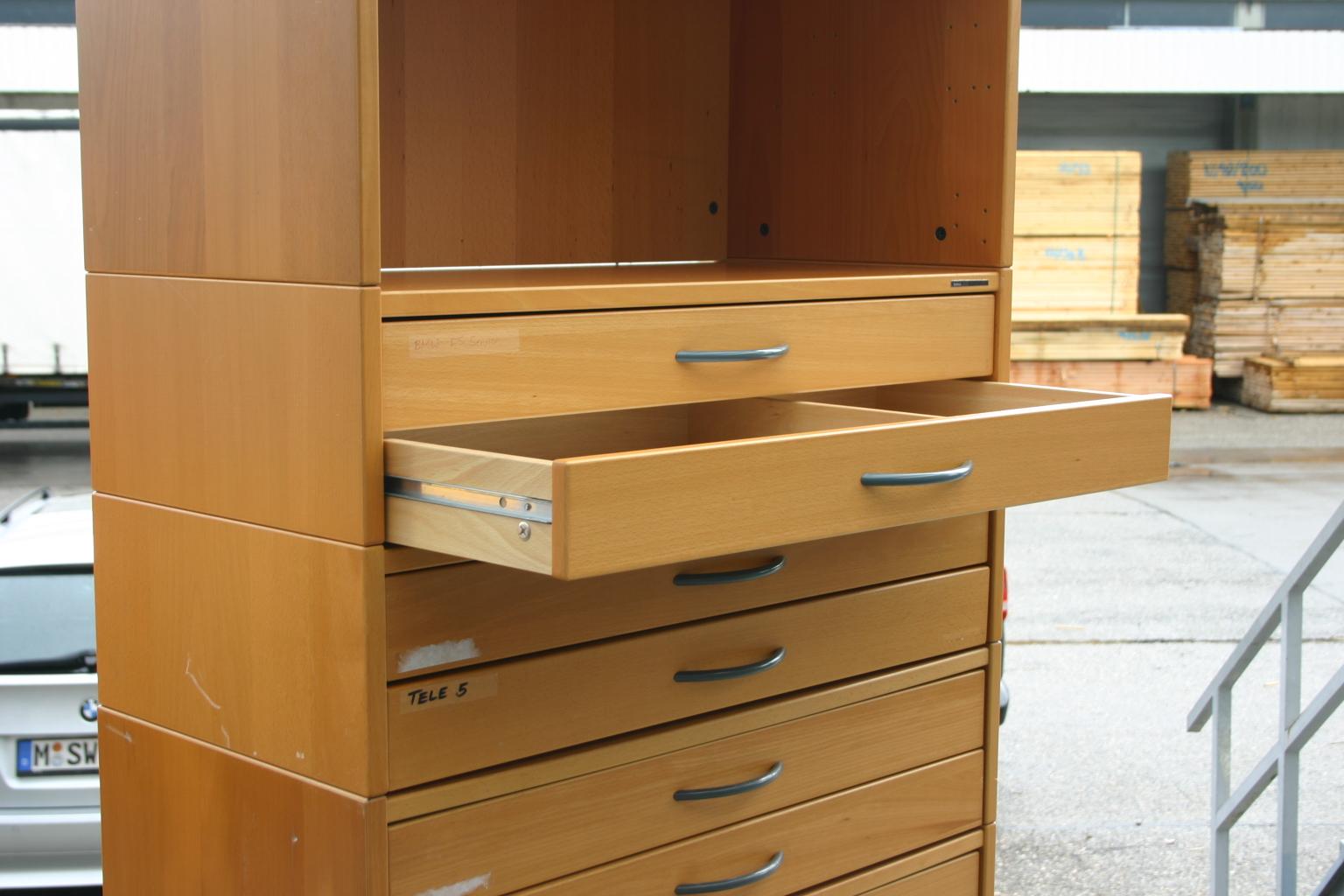 aufsatzelement schubladen in buche von ikea modell effektiv. Black Bedroom Furniture Sets. Home Design Ideas