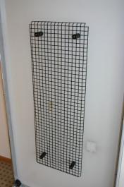 Kabelkorb von USM Haller in Chrom / schwarz