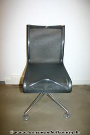 Bürostuhl in schwarz von Alias, Modell Meetingframe