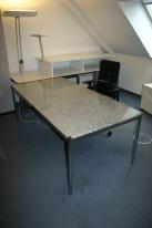 Schreibtisch 150 x 75 aus Granit von USM Haller
