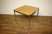 USM Haller Tisch in Buche 75 x 75