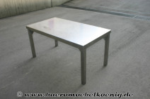 Edelstahltisch 130 x 70 cm