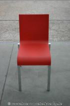 Besucherstuhl in rot von Vitra, Modell .03