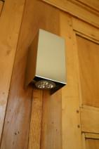 LED-Wandlampe aus Edelstahl