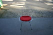 Besucherstuhl, Modell Wire Chair DKX-5 von Vitra, Charles Eames