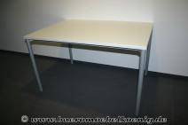 Schreibtisch 120x80 in weiß von Ceka