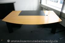 Komplettbüro in Birne / schwarz von Rosenthal