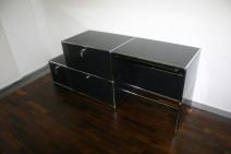 Computertisch in schwarz von USM Haller