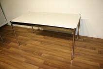 USM Haller Tisch in perlgrau 200 x 100