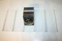 Praktischer CD Einsatz von USM Haller 75 x 50 cm