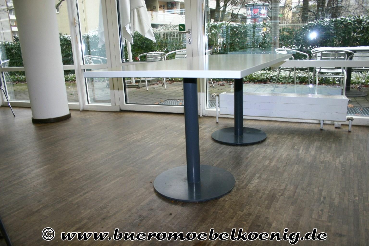 tisch 180 x 80 in wei grau. Black Bedroom Furniture Sets. Home Design Ideas