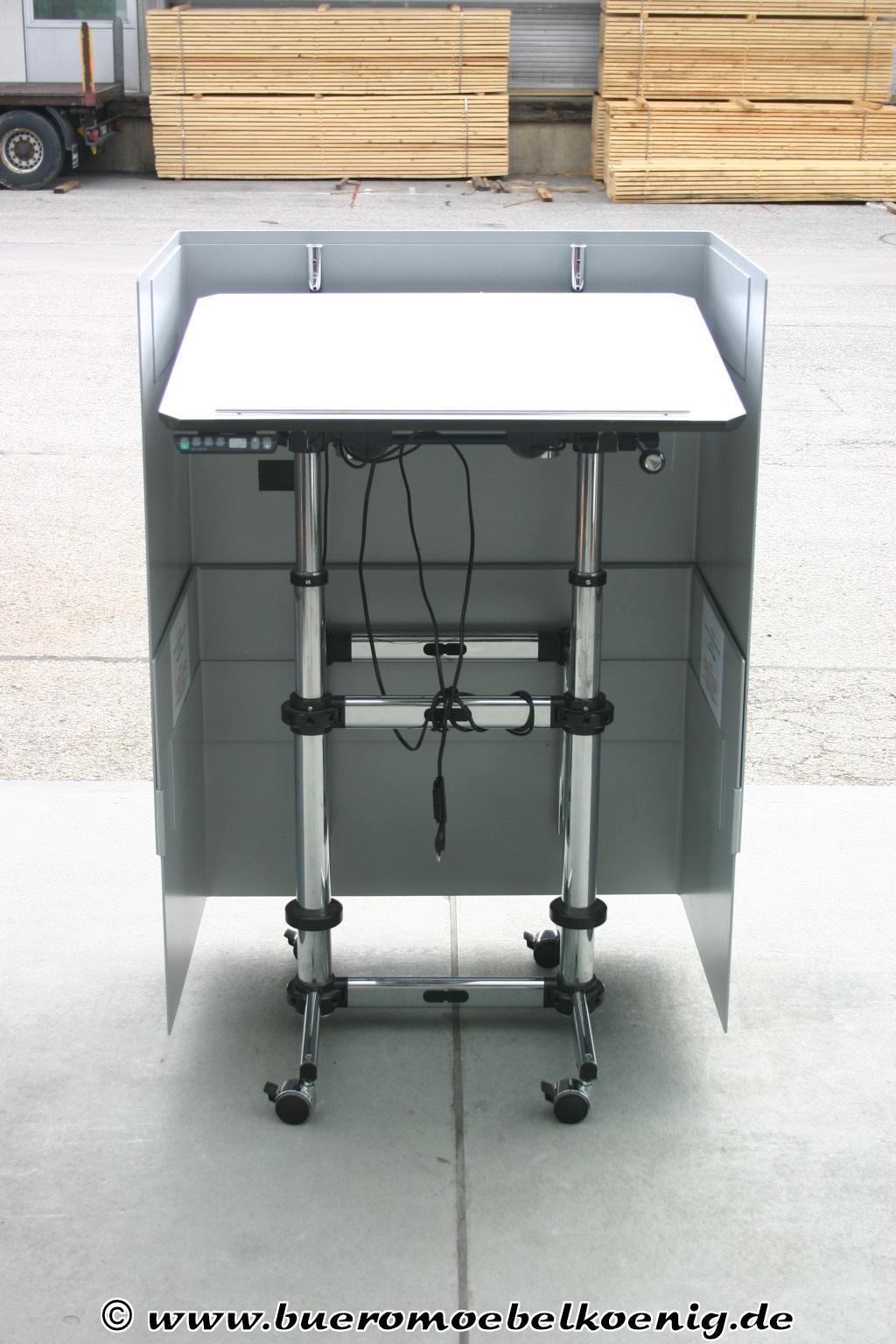 rednerpult stehpult von usm haller kitos in lichtgrau. Black Bedroom Furniture Sets. Home Design Ideas