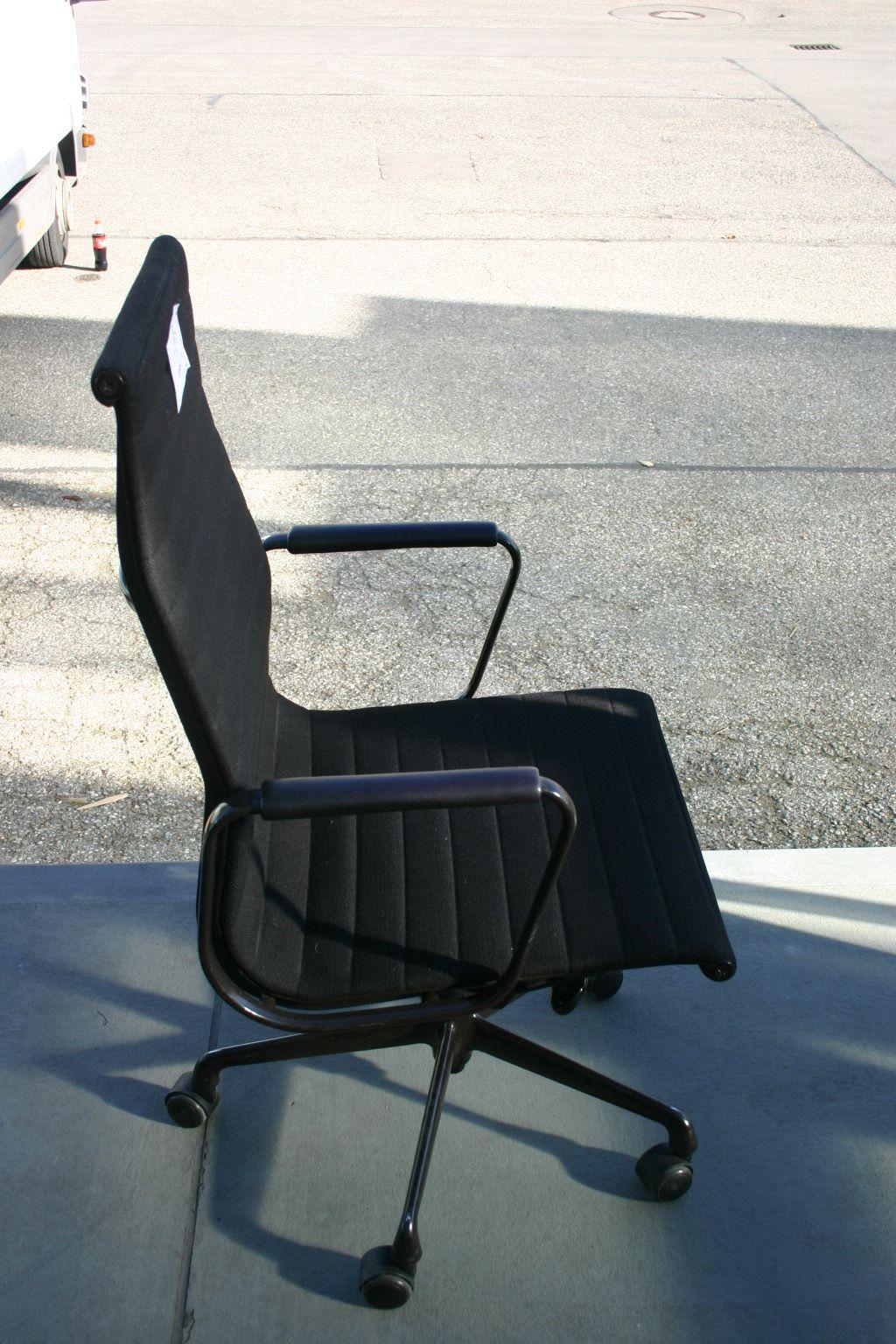Eames Bürostuhl eleganter bürostuhl ea119 vitra charles eames