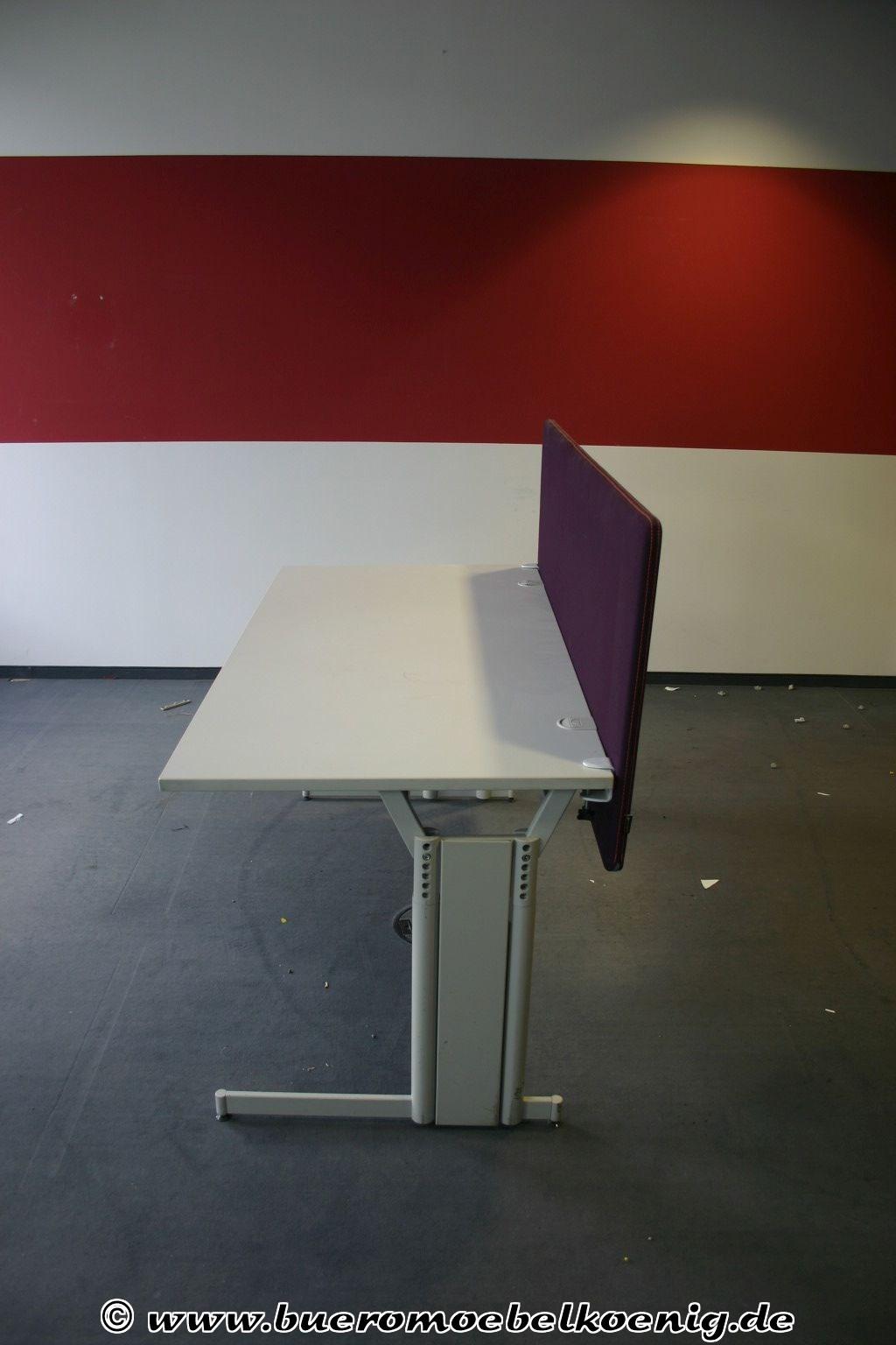 Trennwand für Schreibtisch in lila von Götessons