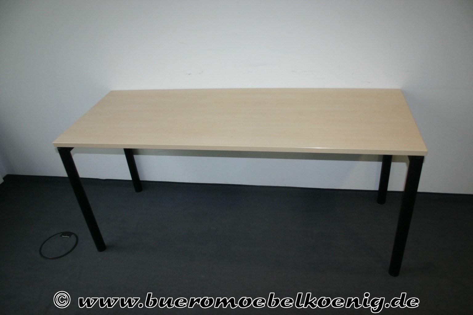 Schreibtisch 160x60 in ahorn von ceka for Schreibtisch aus ahorn