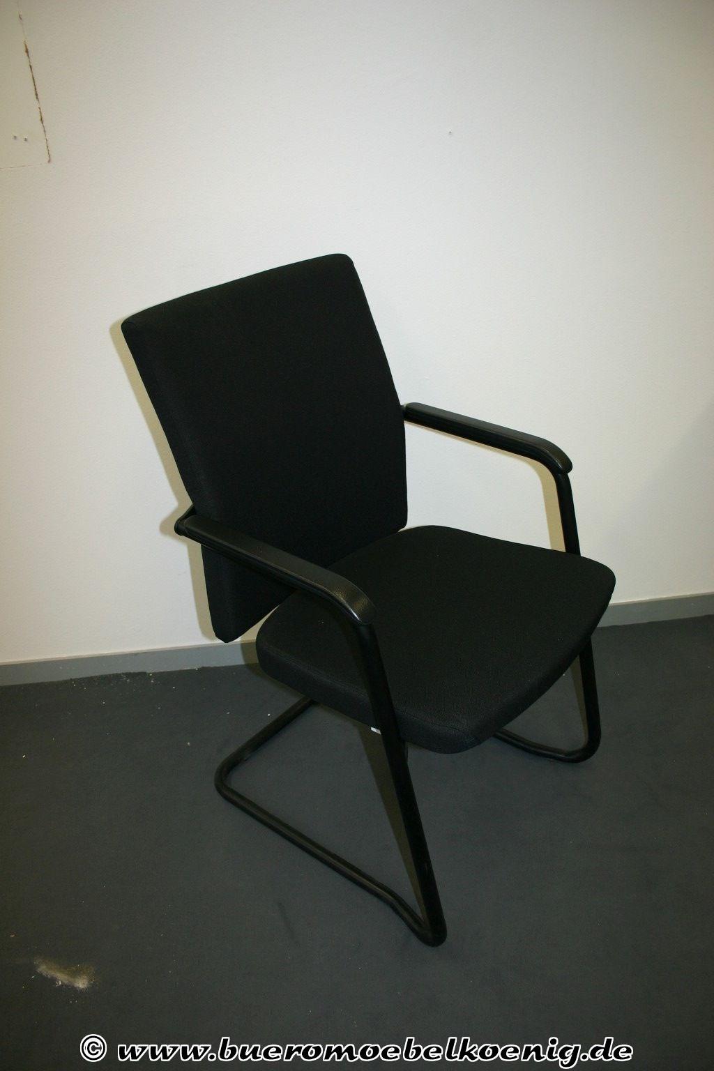 freischwinger in schwarz von rohde grahl konferenzst hle st hle unsere kategorien. Black Bedroom Furniture Sets. Home Design Ideas