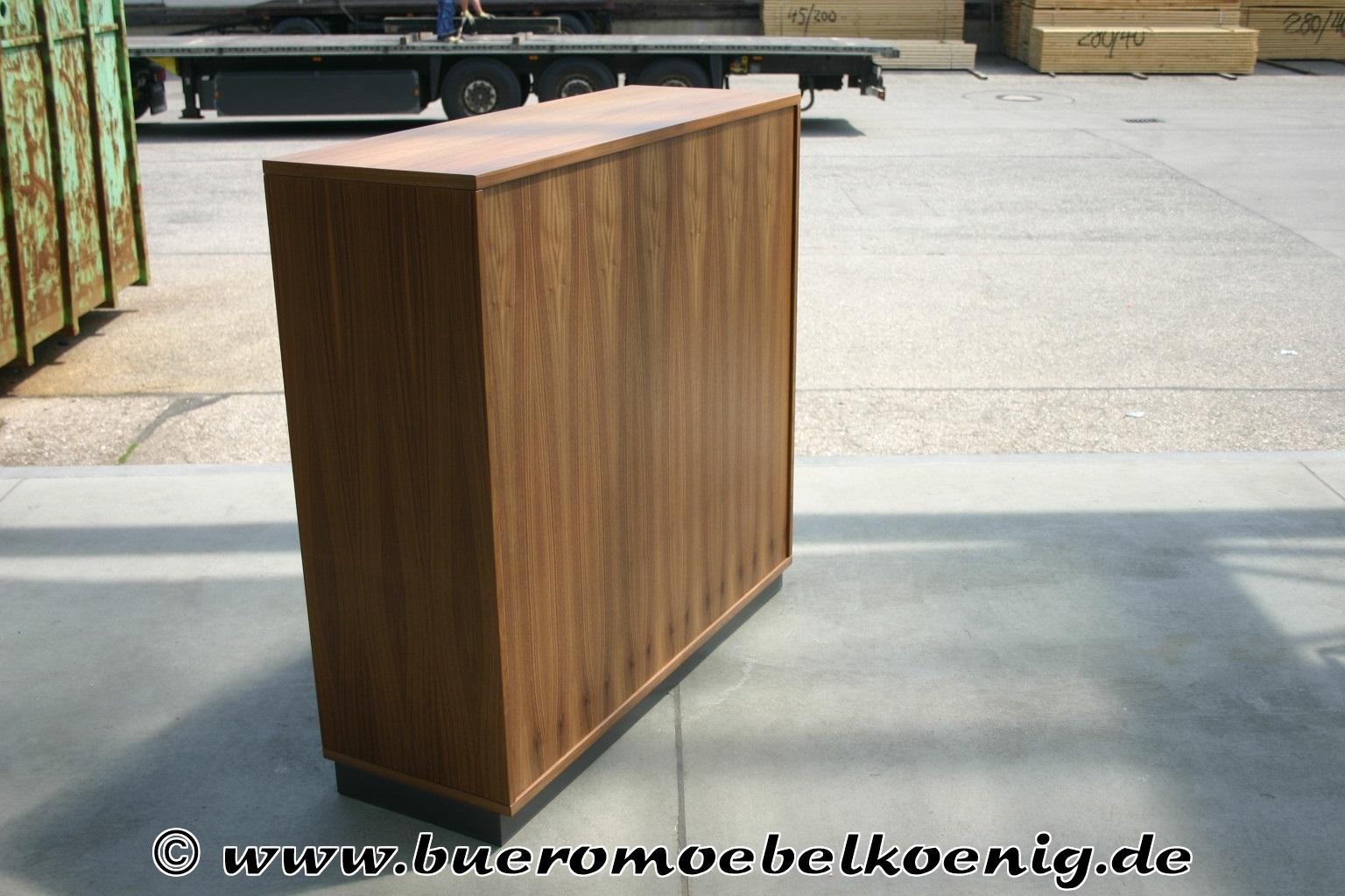 Sideboard 3 OH in Nussbaum von Lorbeer