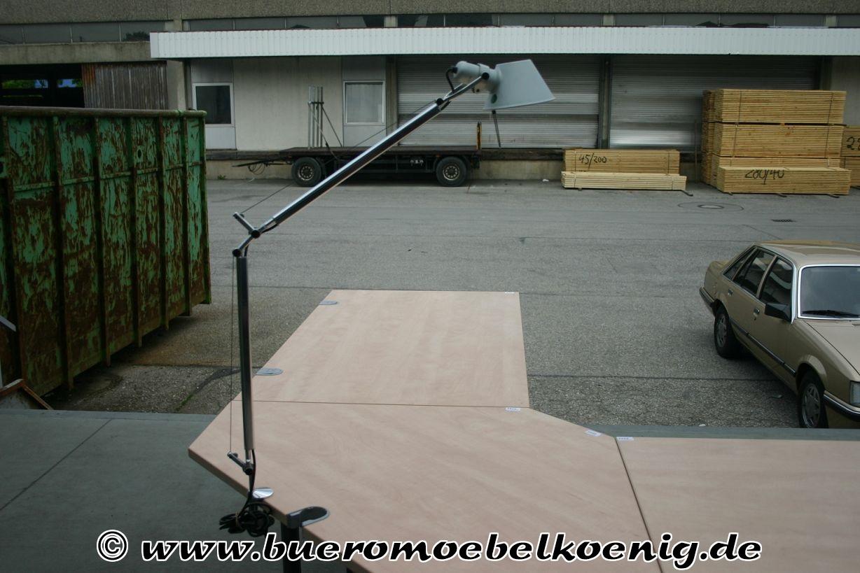 schreibtischlampe von artemide modell tolomeo. Black Bedroom Furniture Sets. Home Design Ideas