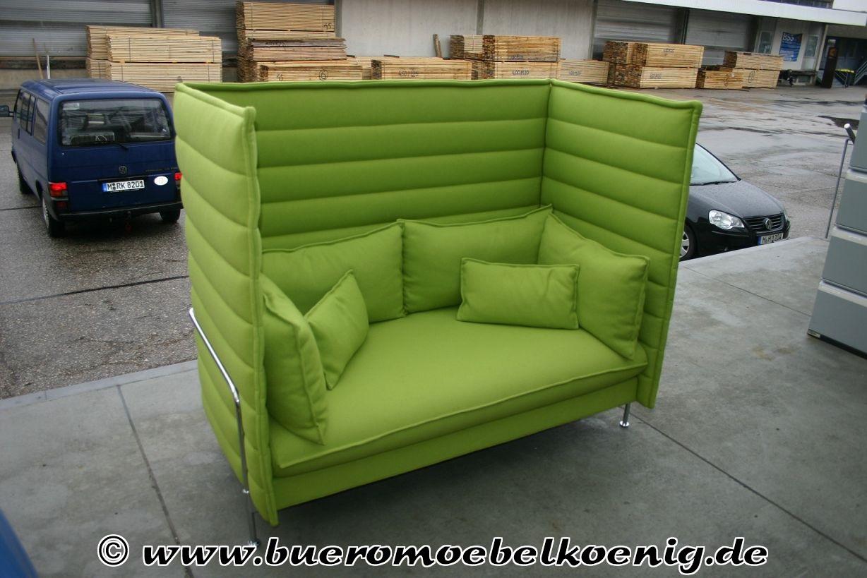 Vitra sofa alcove highback gebraucht refil sofa for Sofa 60er gebraucht