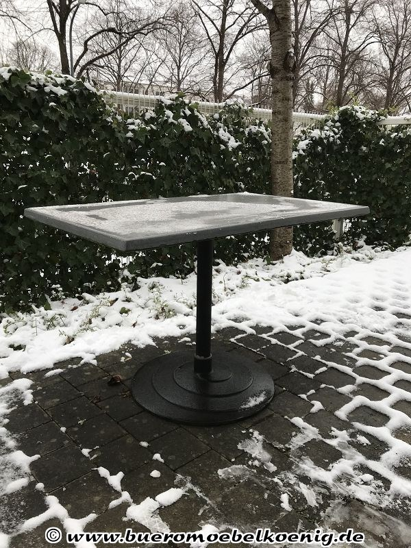 outdoor tisch mit werzalitplatte von go in tische. Black Bedroom Furniture Sets. Home Design Ideas