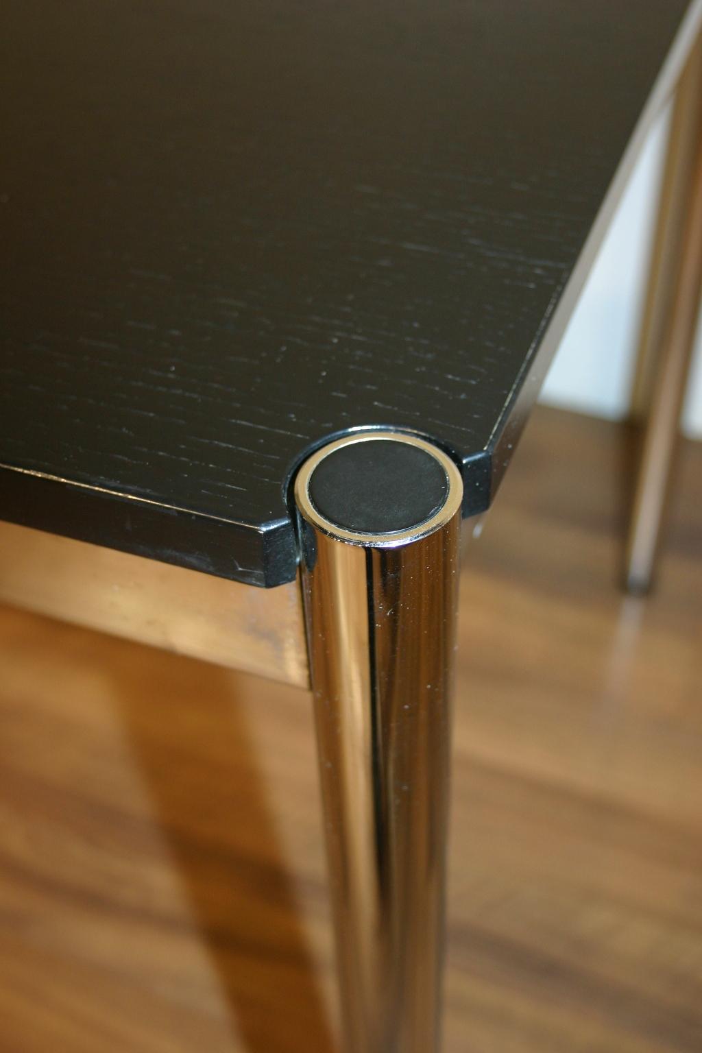 usm haller tisch in schwarz 200x75. Black Bedroom Furniture Sets. Home Design Ideas